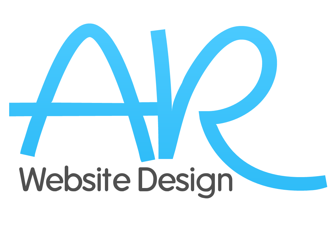 a r website design logo