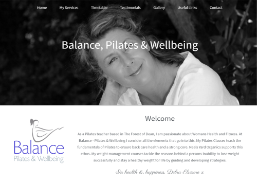 balance pilates and wellbeing