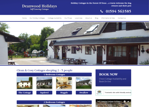 deanwood holiday cottages