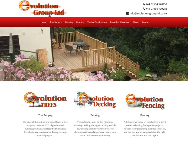 evolution group ltd