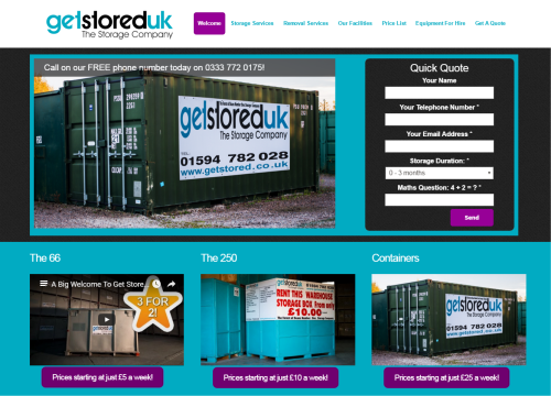 get stored uk