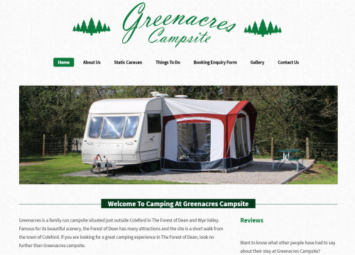greenacres campsite forest of dean
