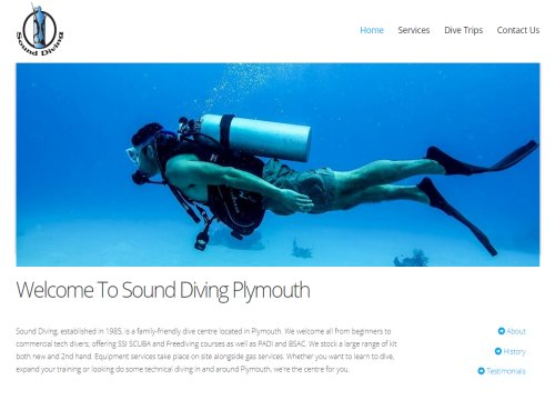 sound diving