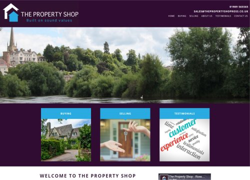 the property shop ross