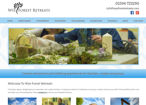 wye forest retreats